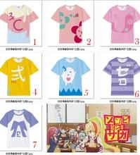 Zombieland Saga Sakura Minamoto Konno Junko Cosplay Costume Women Men T-shirt Shirt Tops short sleeved Casual