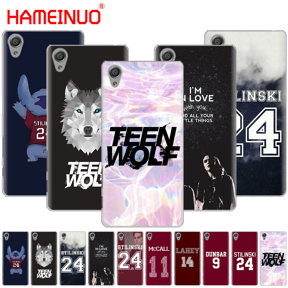 Hameinuo Teen Wolf Stilinski Cover Phone Case For Sony Xperia C6 Xa1 Xa2 Xa Ultra X Xp L1 L2 X Xz1 Compact Xr/xz Premium Available In Various Designs And Specifications For Your Selection Cellphones & Telecommunications