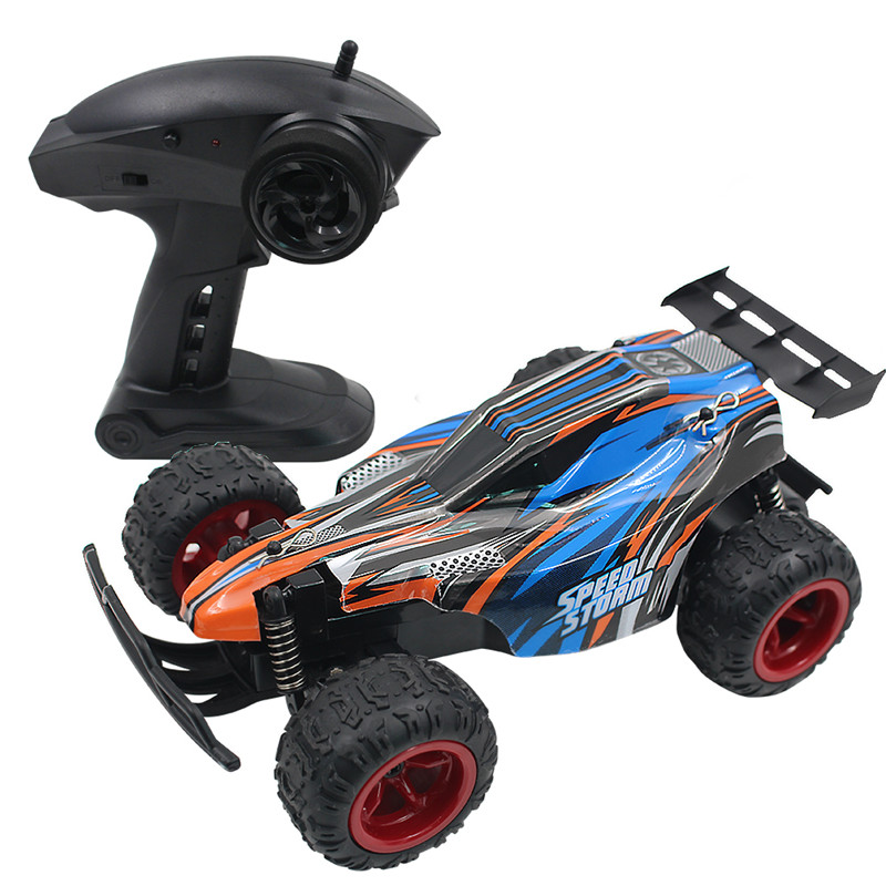 RC Car 2.4GHZ 20KMH High Speed Classic Toys Hobby 2WD Two Wheel Drive 1:20 Scale Radio Remote Control Model Off Road Vehicle Toy