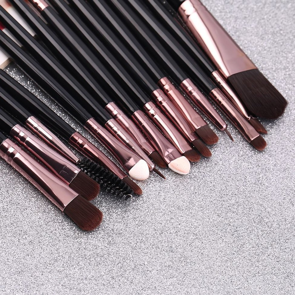Set of Professional pieces brushes pack complete make-up brushes