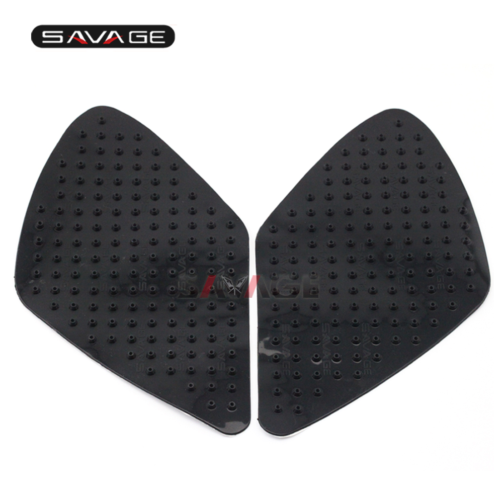 For SUZUKI GSR600 06-10, K7 GSXR1000 07-08 Tank Traction Pad Anti Slip Sticker Motorcycle Side Decal Gas Knee Grip Protector