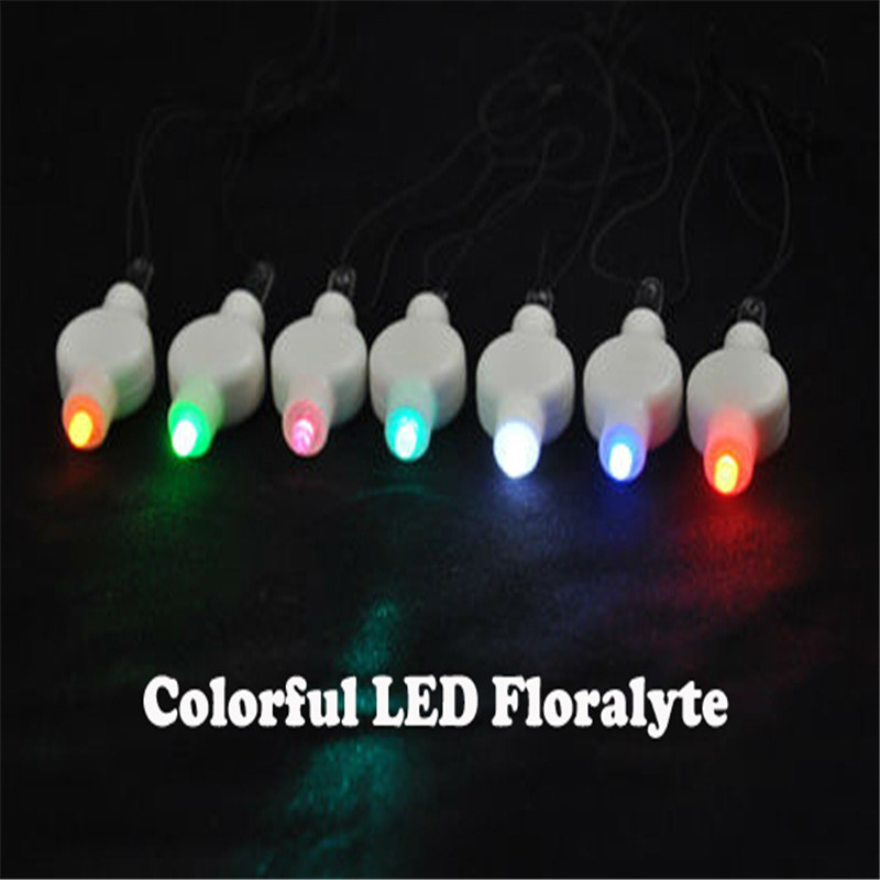 50pcs Lot 11colors Choice Super Bright Battery Operated