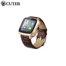2015 neue Wasserdichte Intelligente Uhr S7 MTK6572 Uhr Telefon mit SIM slot 5mp Kamera, wasserdichte Leder Handgelenk Smartwatch