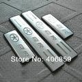Turim aço inoxidável de Alta qualidade Placa Scuff/Peitoril Da Porta Para 2008-2012 JAC J3/J3