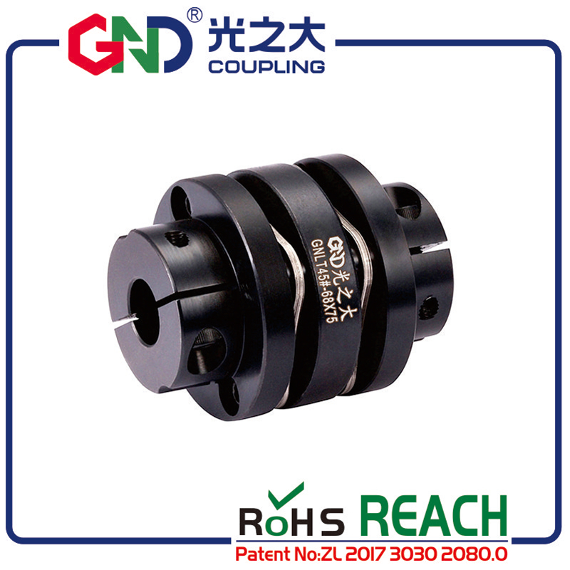 GNLT 45# Steel Stepped Double Diaphragm Clamp Series 45# Steel shaft couplingsGNLT 45# Steel Stepped Double Diaphragm Clamp Series 45# Steel shaft couplings