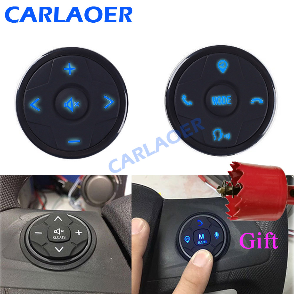 Remote-Control-Controller Navigation Radio Steering-Wheel Music Universal Wireless Car