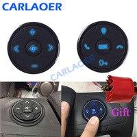Mando a distancia Universal para volante de coche, 10 teclas, música, inalámbrico, DVD, navegación GPS, Radio, botones de control remoto