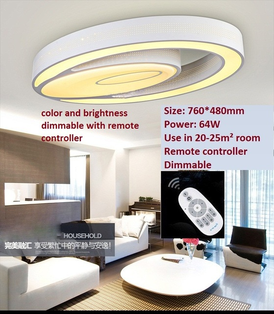 AliexpresscomBuy Modern ceiling lights 32W dimmable living