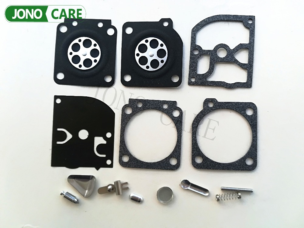 10SETS Carburetor Carb Diaphragm Rebuild Kit For STIHL 020 020T MS191 MS200 MS200T MS 200 200T 191 192T Chainsaw Zama RB-69