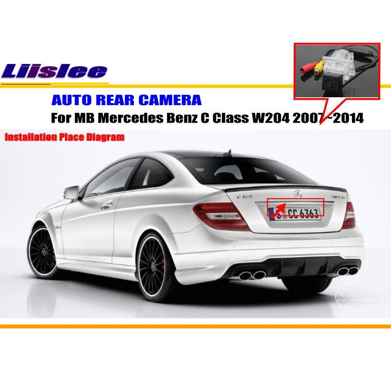 Car rear view camera sets for mercedes benz c class w204 20072014 liislee car rear view camera for mercedes benz c class w204 20072014 reverse cheapraybanclubmaster Image collections