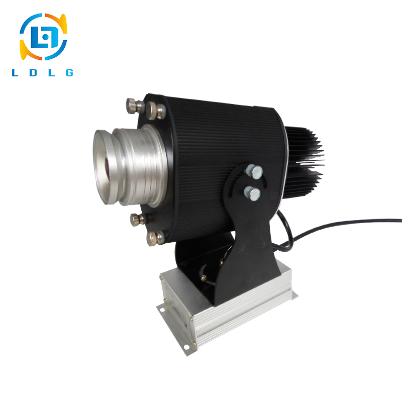 CE and RoHS Certified Festival Indoor 30w Rotating Light Gobo Led Custom Image Logo Projection Projectors with 1 Full Color Gobo