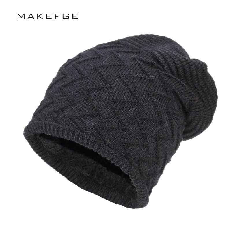 2017 new men warm hats beanie hat winter knitting wool hat for unisex caps lady beanie knitted caps women s hats warm z1 Men Warm Hats Beanie Hat Winter Knitting Wool Hat for Unisex Caps Lady Beanie Knitted Caps Women's Hats Outdoor Sport Warm gorro