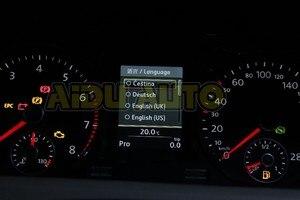 Image 5 - لوحة العدادات ذات الألوان الكاملة 280 كم/ساعة بإبرة حمراء اكتساح 35D 920 880 D متوافقة مع Passat B7 CC