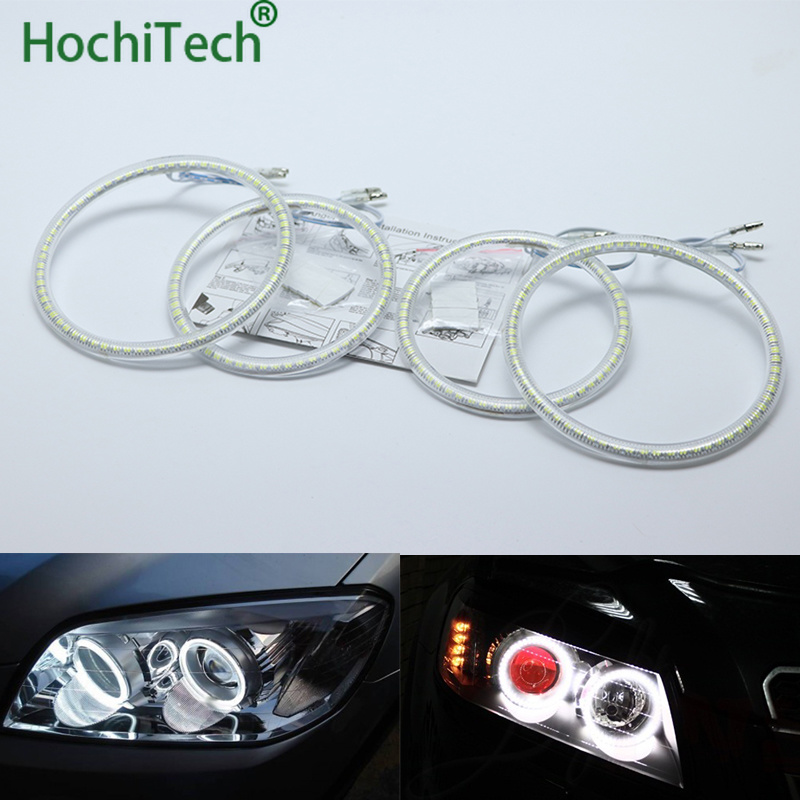 Ultra lumineux SMD blanc LED ange yeux halo anneau kit éclairage diurne DRL pour CHEVROLET CAPTIVA S3X 2006- 2011