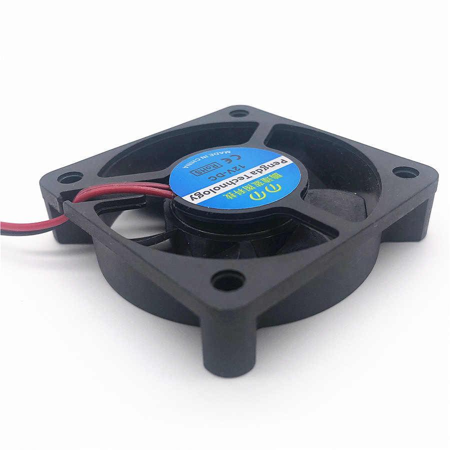 Neue DC 5V 12V 24V 0,1 EINE 5010 50MM 50*50*10MM Kühlung fan grafikkarte brücke chip 3D Drucker lüfter mit 2pin 3pin
