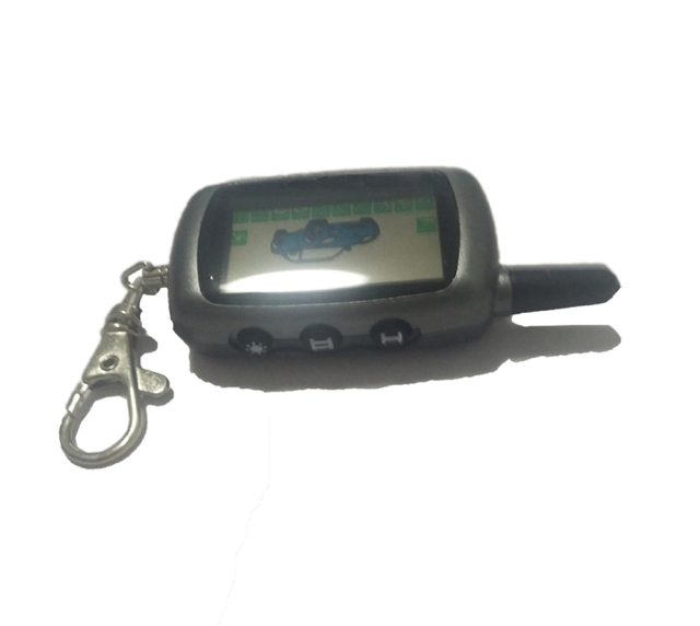 CheMeiMei A9 Keychain Key Fob Chain LCD Remote Controller For Starline A9/A6/A8/A4 Twage Two-Way Car Alarm Systems