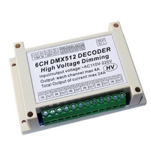 Incandescent strip light promotion shop for promotional incandescent ws dmx dmxhv 6ch ke 6 channel dmx512 dimming control silicon box board use for incandescent light have guideway shell aloadofball Choice Image