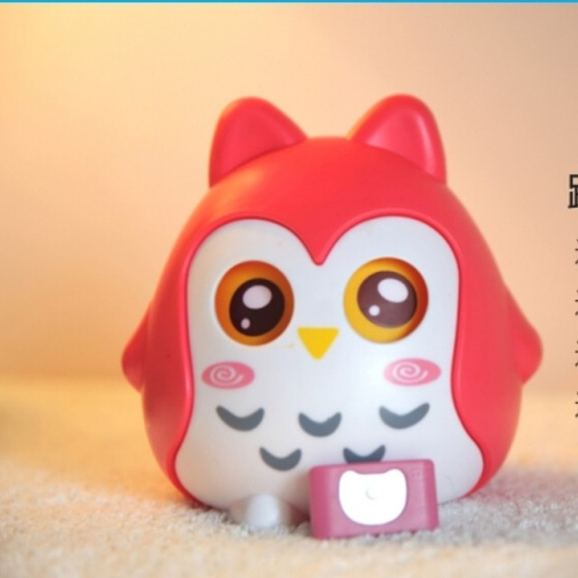 lovely owl Kick quilt warning machine digital baby thermometers keep warm away from cold easy use