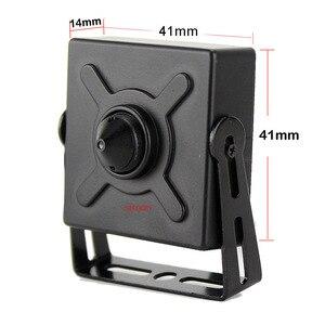 Image 3 - 1080P أو 3MP 48 فولت POE IPC أو تيار مستمر 12 فولت IP كاميرا شبكة مراقبة مع 3.7 مللي متر ثقب الباب عدسة معدنية صغيرة كاميرا IP صغيرة