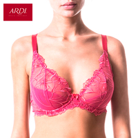 Woman's Bra With A Soft Cups On Frames Everyday Jacquard Fabric ARDI R1531 16