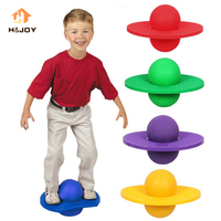 High Bounce Space Balance Jump Board Ball Inflatable Toy Yoga Ball Rock Hopper Pogo Jumping Exercise