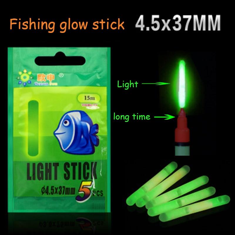 Fishing Float 5 Pcs 15Pcs 20Pcs/lot Light Stick Fluorescent Glowing Stick Luminous Floater Accessory carp Night fishing 2019 new