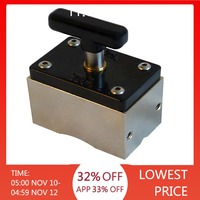 Square Magnetic Welding Fixer Welding Angle Locator Magnetic Positioner Clamp For Circular Workpiece