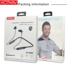 HOTWAV Sport Bluetooth Earphone Wireless magnetic neckband earbuds rema stereo headphone with mic for xs iphone 7 8 plus samsung anbes sn37 bluetooth headset v4 1 wireless earphone hands free headphone with mic for iphone 7 7 plus samsung note 7 lg htc