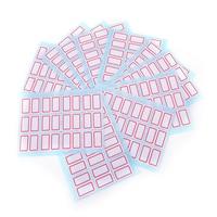 12 листов/пакет пустой наклейки может быть план практически на любой чистой поверхности tardy