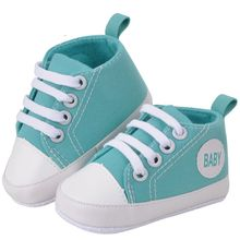 New 7 Colors Kids Children Boy Girl Sports Shoes Sneakers Baby Infant Soft Bottom First Walkers