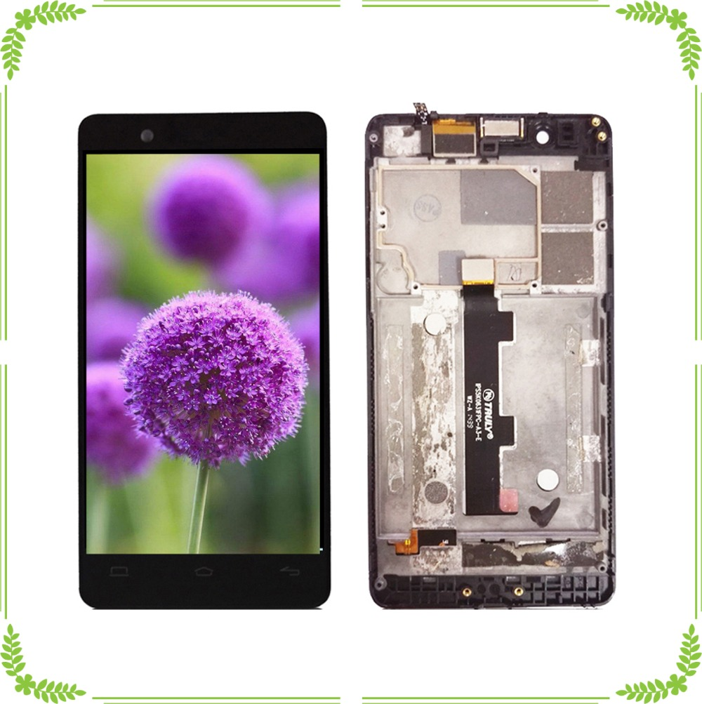 100% Work Well LCD Display+Frame For BQ Aquaris E4.5  Touch Screen Repair Parts Assembly100% Work Well LCD Display+Frame For BQ Aquaris E4.5  Touch Screen Repair Parts Assembly