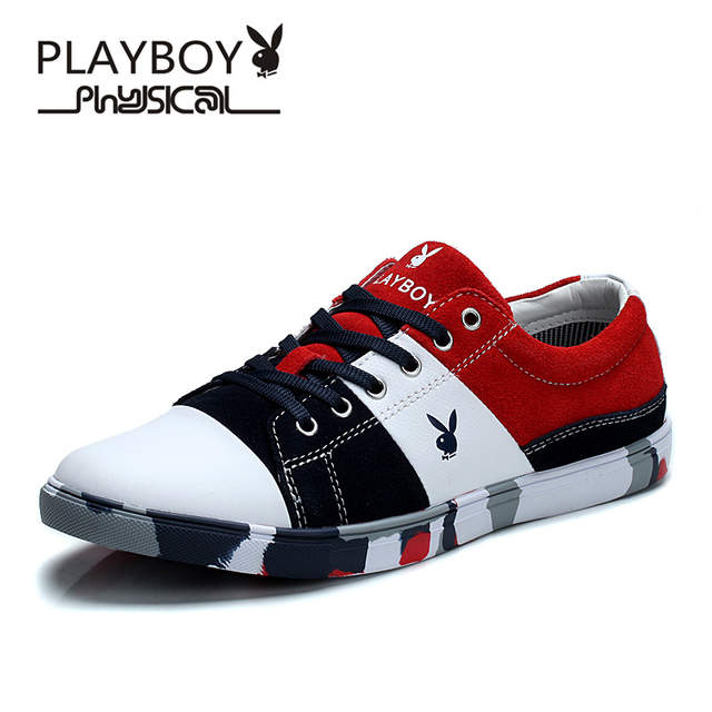f26a7decef7 placeholder PLAYBOY Men Casual Driving Shoe Handmade Genuine Leather men  Loafers boat Shoes Breathable moccasins Plus Size