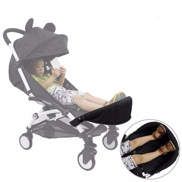 Baby Stroller Accessories Footboard For Babyzenes Yoyo Yoya Carriage Foot Rest Feet Extension 32cm Footmuff For Vovo Babytime