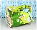 Promoção! 10 PCS kit de roupa de cama conjunto berço cama berço berco ( amortecedores de colchão + travesseiro ) 100 * 60 / 110 * 65 cm