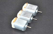 Free shipping (DHL3-7day) 100PCS/ 130 Small DC motor 3 to 5V Miniature four-wheel small 17000-18000 RPM