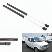 2pcs Rear Window Auto Gas Spring Lift Supports Fits for Chevrolet Astro & for GMC Safari 2001 2005 21.93 inch Damper Cargo Van