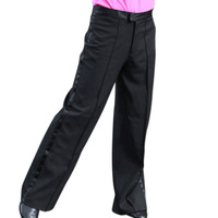 Hot Men S Dance Pants Professional Mens Latin Dance Trousers Practice Performance Stage Pants Modern Ballroom