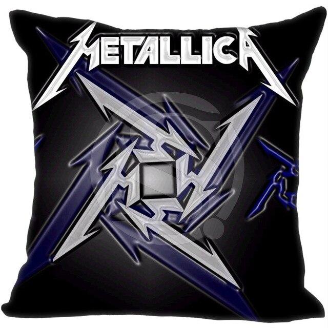 Metal Rock Band Metallica Pillowcase Best Cotton Throw Pillow Cases Simple Metallica Throw Blanket
