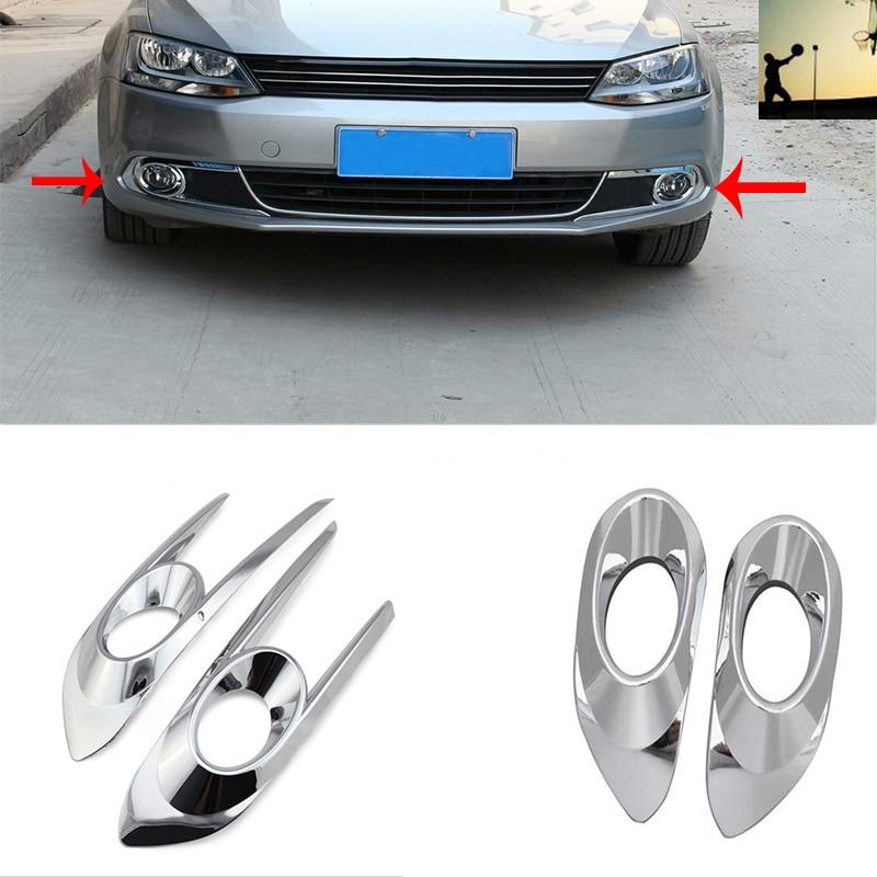 autóstílus ABS CHROME első hátsó ködlámpák COVER TRIM VW VW - Autóalkatrész