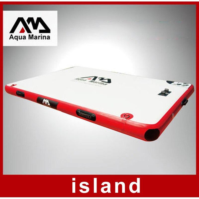 Aqua Marina 250*160*15 cm tablero flotante pesca tablero como una isla flotante conectable entre junta extender A01011