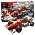 195 unids 10014 Bela Pixar Cars 2 ULTIMATE CONSTRUIR Francesco F1 Formula Racing Car Ladrillos de Construcción Juguetes Modelo Compatible Con Lego