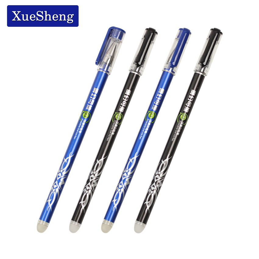 цены на 4PCS/lot Office Stationery Unisex Pen Erasable Pen Unisex 0.5 Gel Pen 2 Color Choose Learning Essential G-312G в интернет-магазинах