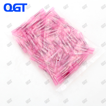цена на 100PCS BHT1.25 22-18AWG Insulated waterproof Heat Shrink Tube Butt terminal Wire Joint Splice Electrical Crimp connector kit