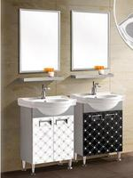 Free shipping convenience another combination of PVC bathroom cabinet. Toilet condole ark