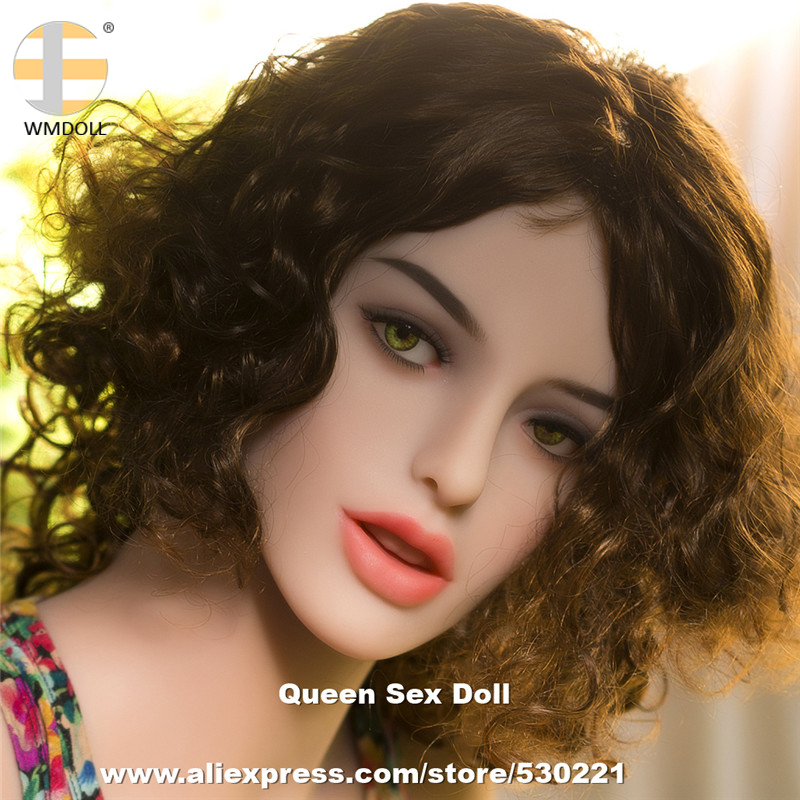 WMDOLL Top Quality <font><b>Sex</b></font> Real <font><b>Doll</b></font> Head For Silicone Adult Sexy <font><b>Dolls</b></font> Mannequin With Oral Sexuales Fit Body From 145cm to <font><b>172cm</b></font> image