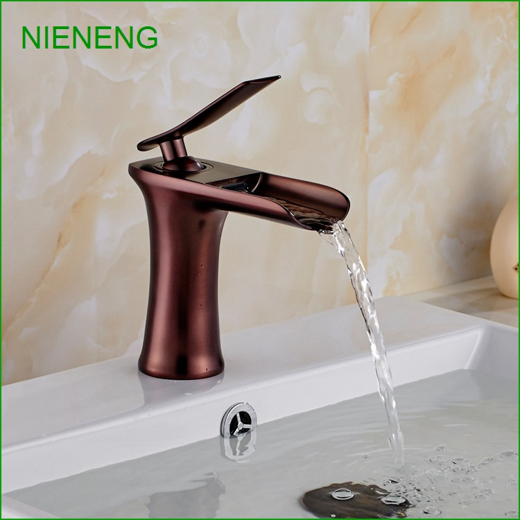 NIENENG Bathroom Sink Faucet Luxury Design Banheiro Purple Gold Color Tap  Bathroom Faucets Wash Taps Water Basin Mixer ICD60126 In Basin Faucets From  Home ...