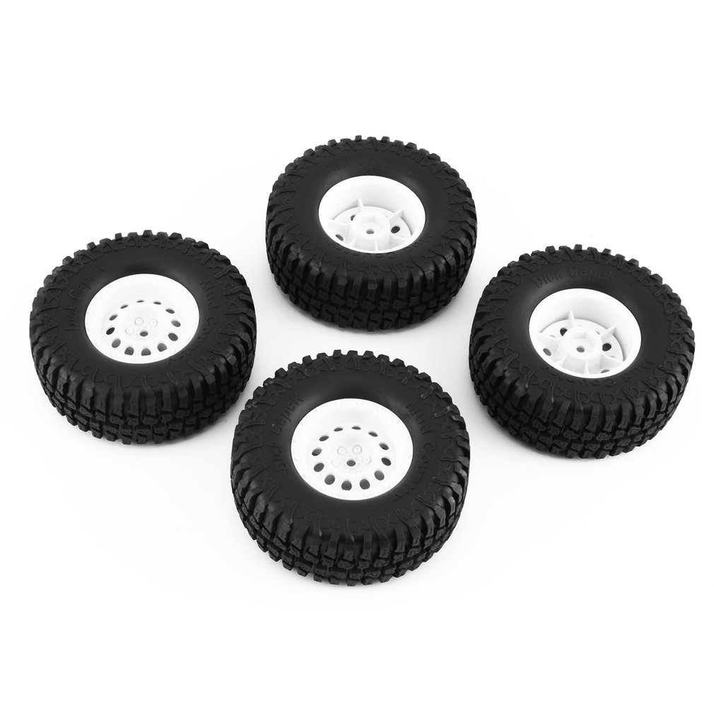 4Pcs For AUSTAR AX-3020+801/802/803/804 1.9 Inch 103mm 1/10 Scale Tires With Wheel Rim For 1/10 D90 SCX10 RC Rock Crawler Parts