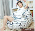 Ywxuege Living Room Individual Word Sofas Bean Bag Sofa( filler included) Linen Cotton Soft Sofa Bed Suit For Bed