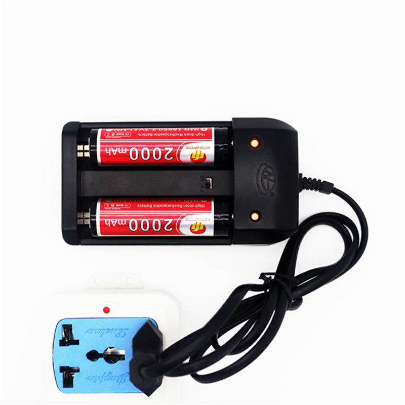 Newest HG-1210W Lithium ion Battery Charger for Lithium Ion Battery multi charger 3.7 voltage Battery 2 slots Charger(1pc)