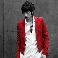Red Blazers 2015 Men S Short Design Slim Male Fashion Classic Suit